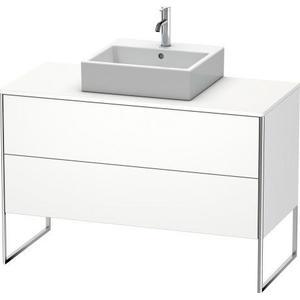 Vanity Unit For Console Floorstanding, White Matte