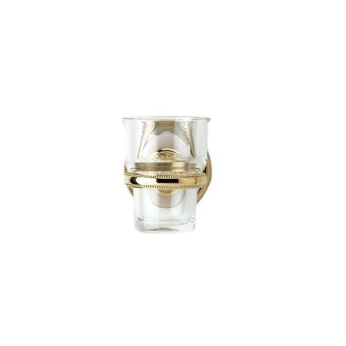 VERSAILLES Wall Mounted Glass Holder KTD30 - Polished Brass