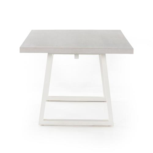 Natural Sand Finish Cyrus Outdoor Dining Table