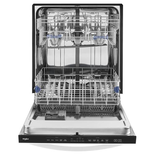 Stainless Steel Tub Dishwasher with TotalCoverage Spray Arm White