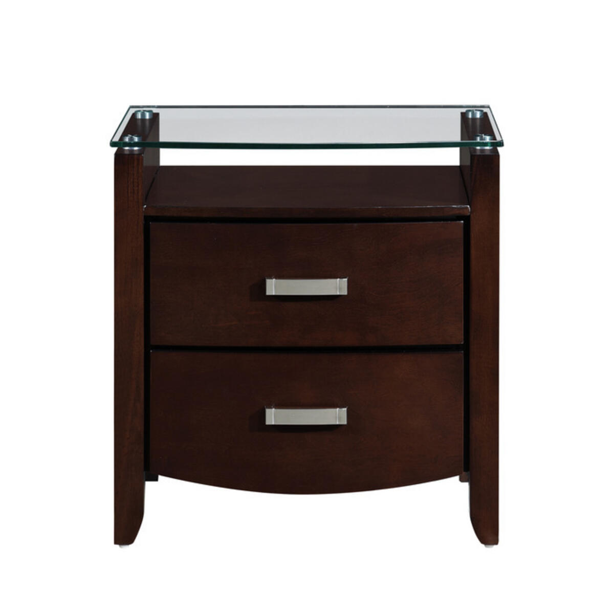 Night Stand, Glass Top