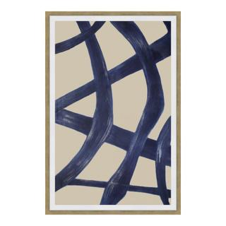 See Details - Clarity 2 Abstract Ink Print Wall Décor
