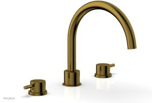 BASIC II Deck Tub Set 230-43 - French Brass Product Image