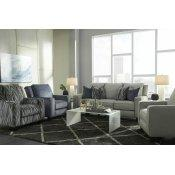 Double Reclining Power Loveseat with Pillows