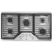 "36"" Built-In Gas Cooktop with 5 Burners and Dishwasher Safe Grates"