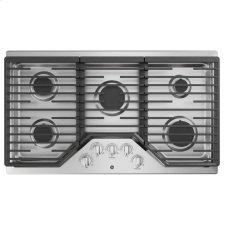 """®36"""" Built-In Gas Cooktop with 5 Burners and Dishwasher Safe Grates"""