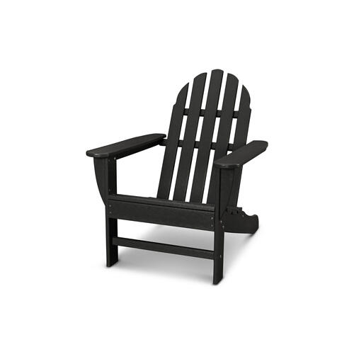 Black Classic Adirondack Chair