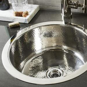 Round Stainless Bar Sink Product Image