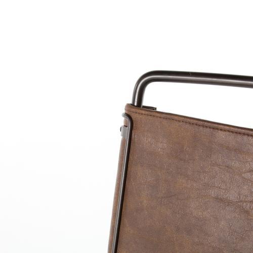 Bar Stool Size Distressed Brown Cover Wharton Bar + Counter Stool