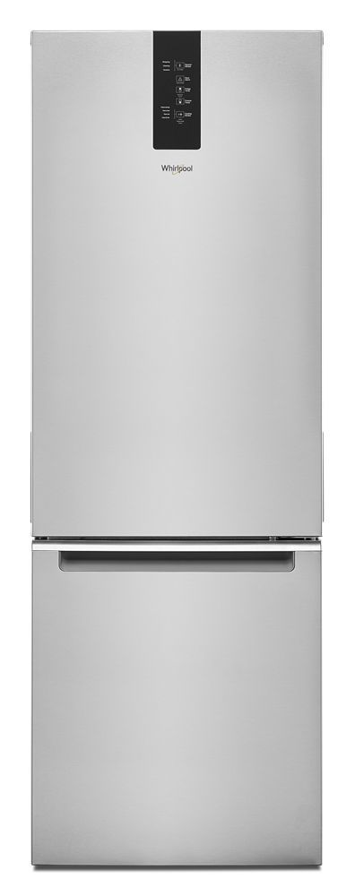 Whirlpool24-Inch Wide Bottom-Freezer Refrigerator - 12.7 Cu. Ft.