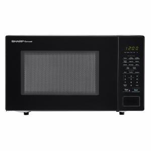 Sharp Appliances1.1 cu. ft. 1000W Sharp Countertop Black Microwave