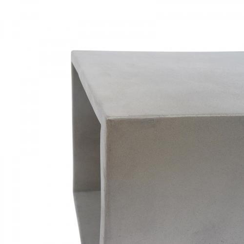 VIG Furniture - Modrest Diaz Modern Grey Concrete End Table