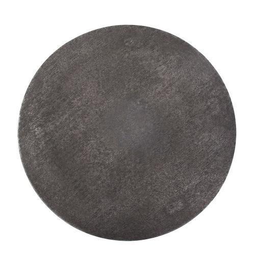 Howard Elliott - Graphite Metal Round Nesting Table Set