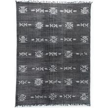 See Details - 9'x12' Size Tribal Faded Black Rug