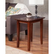 See Details - Shaker Chair Side Table Walnut