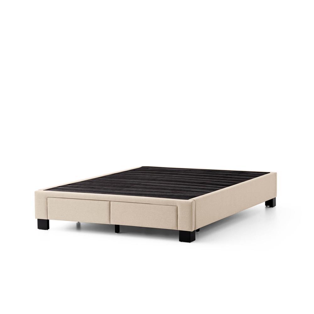 Duncan Platform Bed Base - Queen Charcoal