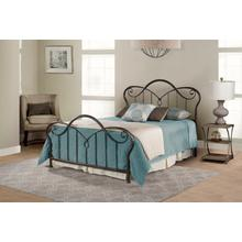 Casselton King Bed, Black Pewter
