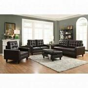 ACME Nate Loveseat - 50261 - Espresso Leather-Gel Product Image