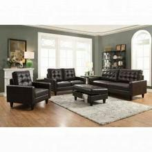 ACME Nate Loveseat - 50261 - Espresso Leather-Gel