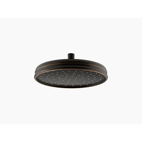 "Oil-rubbed Bronze 10"" Rainhead With Katalyst Air-induction Technology, 2.5 Gpm"