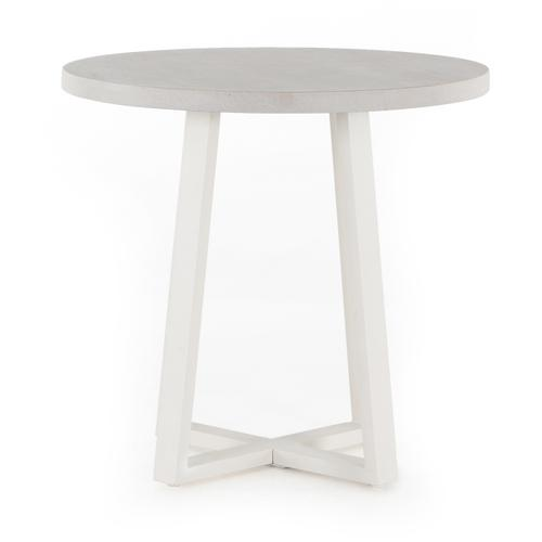 """32"""" Size Natural Sand Finish Cyrus Outdoor Round Dining Table"""