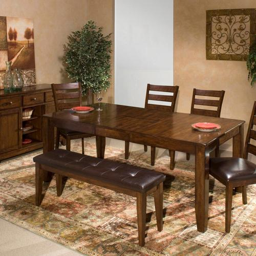 Intercon Furniture - Kona Dining Bench  Raisin
