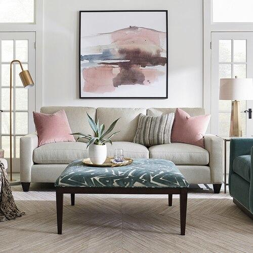 Custom Upholstery Grand Sofa