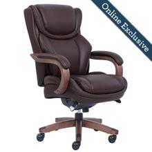 See Details - Harnett Executive Office Chair, Brown