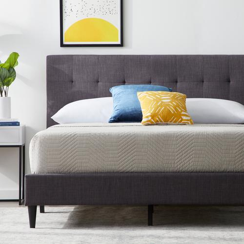 Malouf - Hart Upholstered Bed - Twin Tan