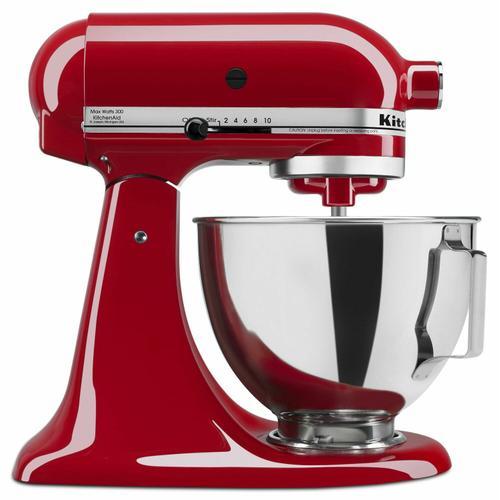 KitchenAid - 4.5-Quart Tilt-Head Stand Mixer - Empire Red