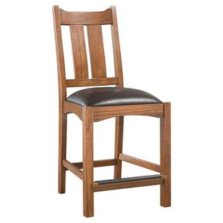 Oak Park Wide Slat Stool