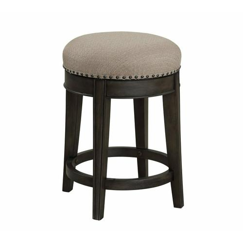 SUNDANCE - SMOKEY GREY Swivel Stool