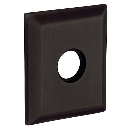 Baldwin - Distressed Oil-Rubbed Bronze R033 Square Rose