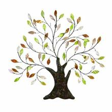 "MTL CAPIZ TREE WALL ART 30""W, 29""H"