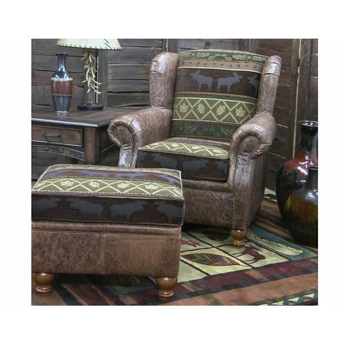 Somerset (Leather) Rocker Chair