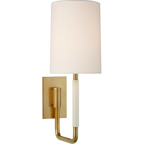 Visual Comfort - Barbara Barry Clout 1 Light 5 inch Soft Brass Wall Sconce Wall Light, Small