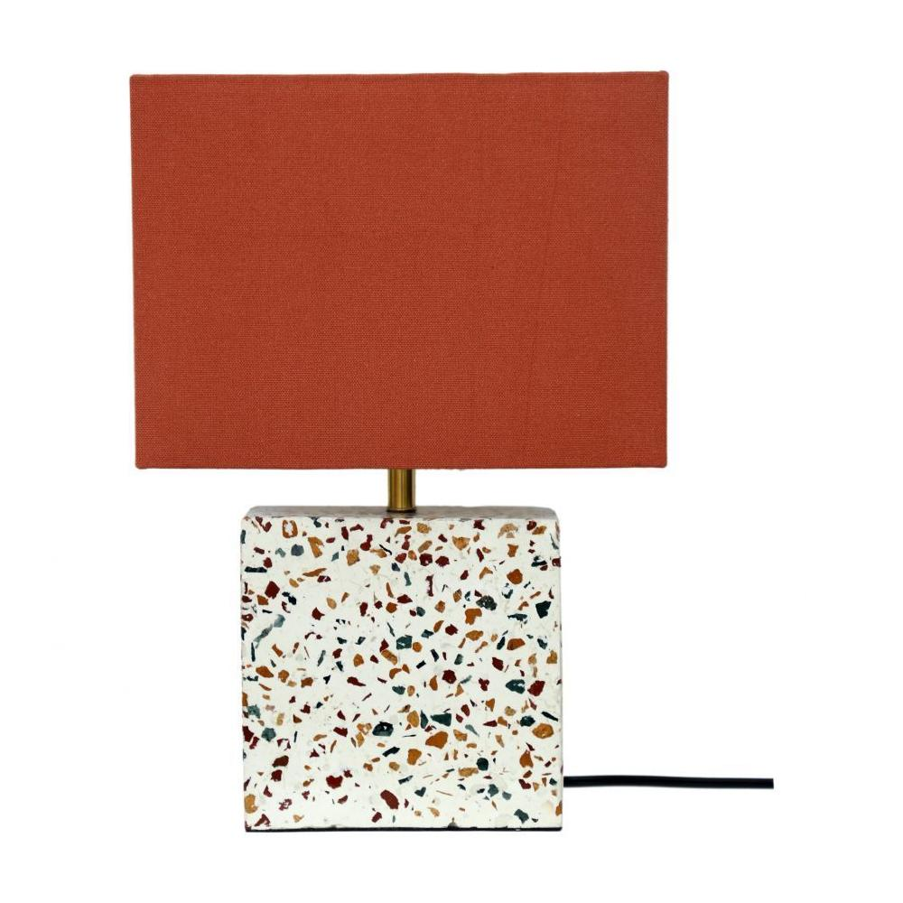 See Details - Terrazzo Square Table Lamp