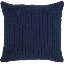 "Life Styles Et299 Navy 18"" X 18"" Throw Pillow"