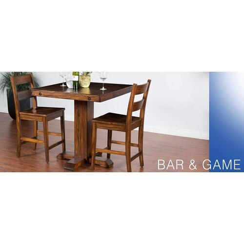 Tuscany Pub Table w/ Adjustable Height