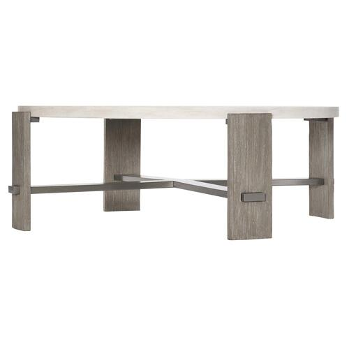 Foundations Cocktail Table in Linen (306), Light Shale (306)