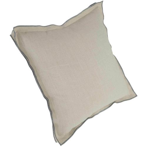 "Luxe Pillows Contrast Flange (22""x22"")"