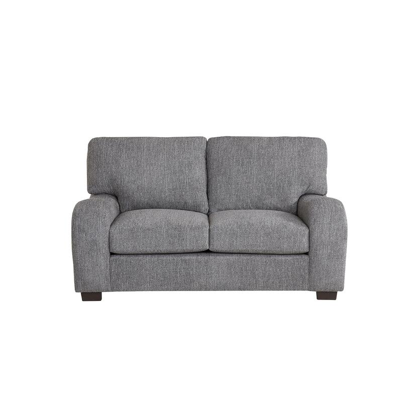 Loveseat - Shown in 118-09 Salt \u0026 Pepper Chenille Finish
