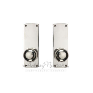 CL Escutcheon Shown with Windsor 900 knob in white bronze patina Product Image