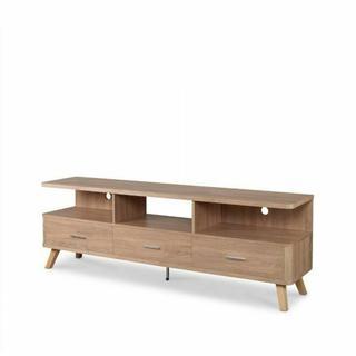ACME Lakin TV Stand - 91282 - Rustic Natural