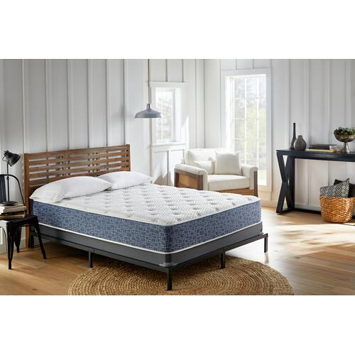 "American Bedding 13"" Medium Tight Top Mattress in Box, Full"