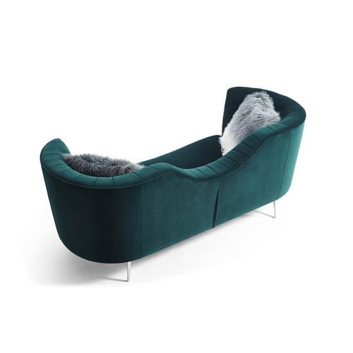 VIG Furniture - Divani Casa Loretta Modern Green Velvet Sofa