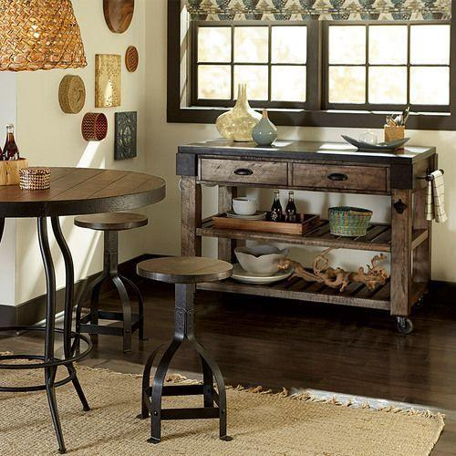 Hidden Treasures Kitchen Island