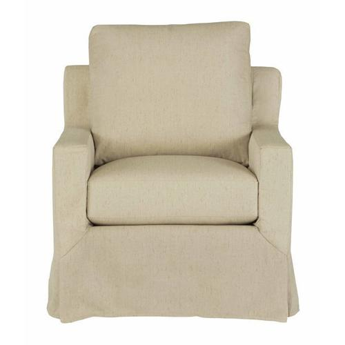 Slip Covered Chair - Shown in 121-05 Wheat Finish