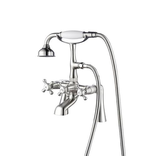 Tub Rim-Mounted Filler with Diverter - Oil Rubbed Bronze