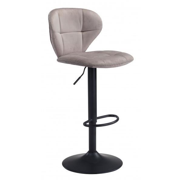 Salem Bar Chair Gray